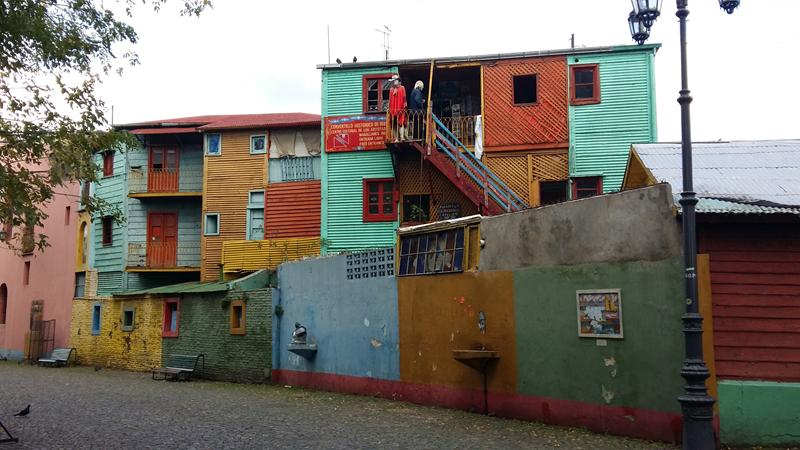 La Boca neighbourhood with Custom Touring