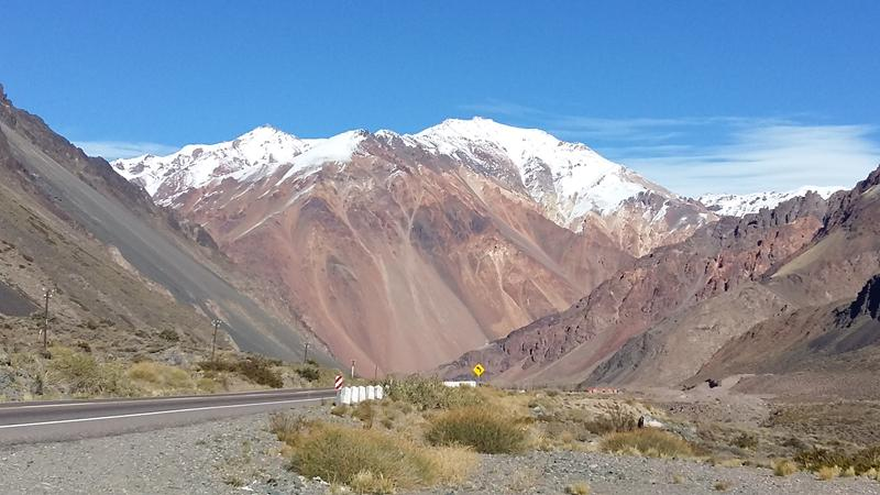 High mountain excursion, Mendoza