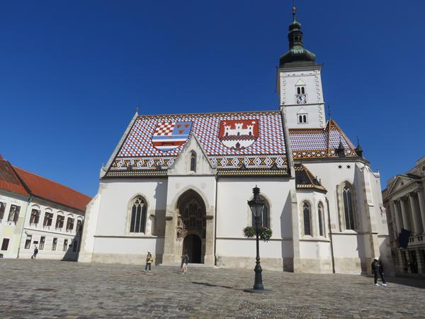 St Mark'e Church, Zagreb