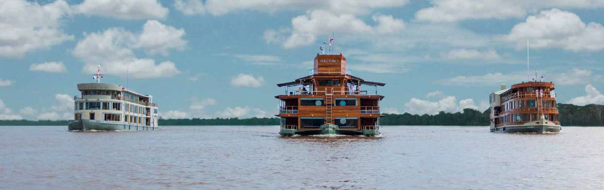 Delfin cruises in Peru Amazon