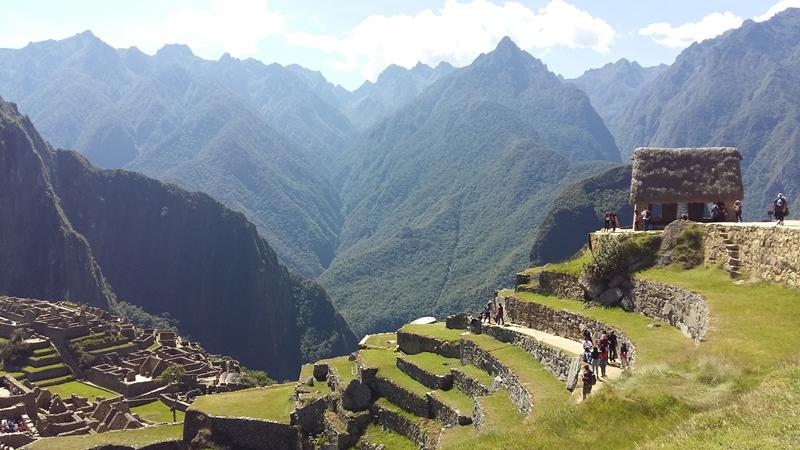 Different view of Machu Picchu