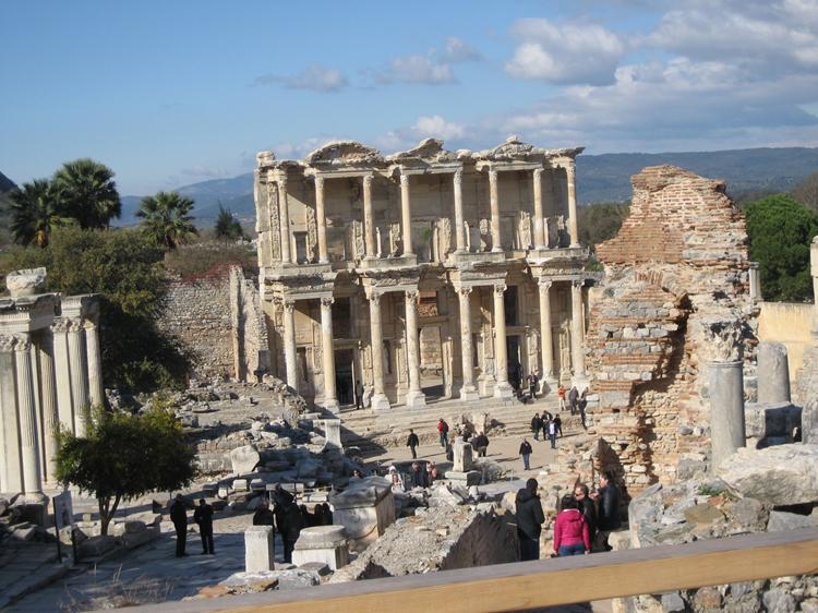 Libraray at Ephesus, Turkey